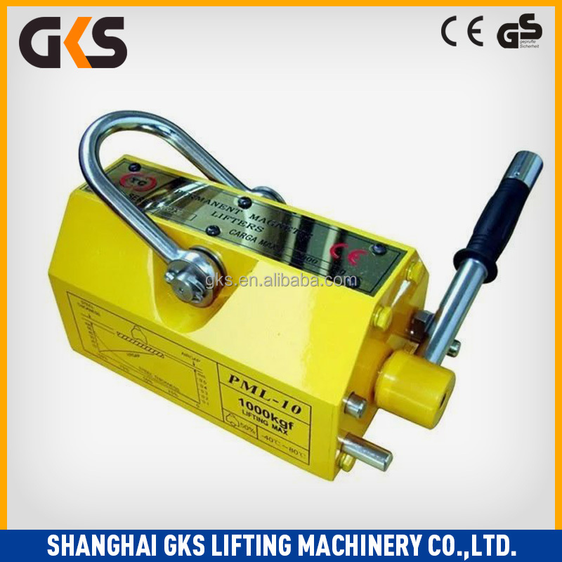Puller 3 times 3.5 times 2 ton lifting magnet