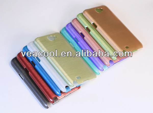 New Brushed PC Hard Back Case Cover for Samsung Galaxy Note 2 II N7100 Back Cover