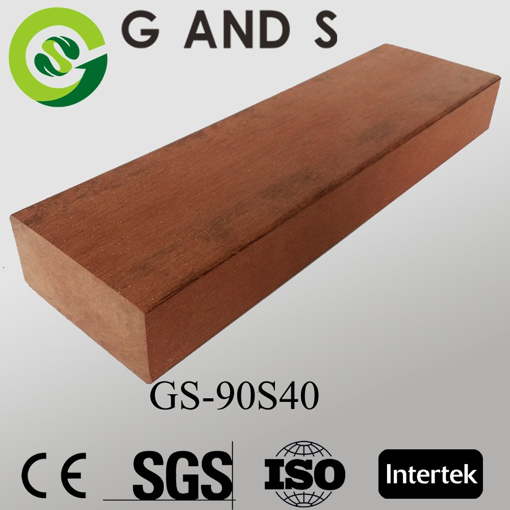 Cheap/lower prices wpc outdoor flooring GS90S40,good price wpc decking/flooring