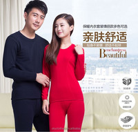 High quality underwear with cashmere couple sexy heated thermal underwear