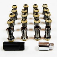 Racing Nuts/L:50mm/Light Weight security lock Lug Nuts