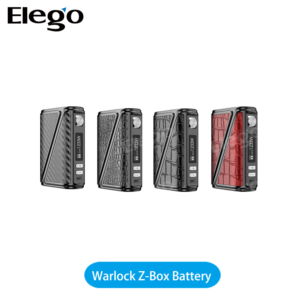 China shenzhen Alibaba new Rofvape Warlock Z-Box 233W Mod all from Rofvape factory
