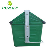 Made In China 1.5MM Body Thickness Hot Dip Galvanzation Mobile Garbage Bin