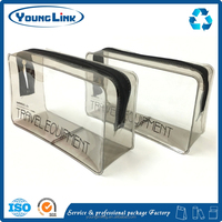 High quality plastic custom transparent pvc pouch