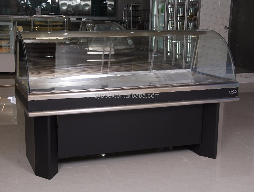 APEX custom make supermarket or restaurant commmercial sausage display counter
