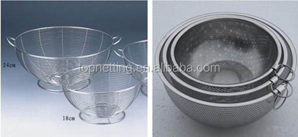 Wire net sterilization baskets medical wire basket
