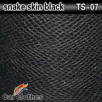 Car Styling 1.52x30m with air bubble snake skin car wrap vinyl film
