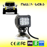Hot sale 18W 110v car led light bar for cars atv suv truck vehicle boat motorcycle