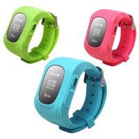 Popular SOS Function Android Smart Child Watch GPS Bluetooth