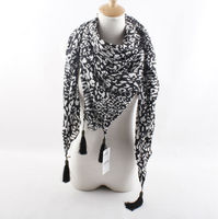 new collection leopards print kerchief with tassel