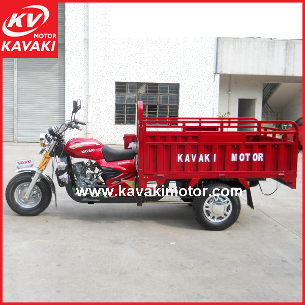KAVAKI three wheel automobile gasoline cargo car motorcycle rickshaw for sale Egypt
