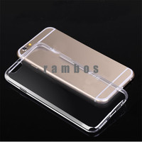 0.45mm Ultra Thin Soft Slim Crystal Gel Clear Soft Case TPU Back Cover for Sony Xperia Z1 Z3 Z5 E4 M5