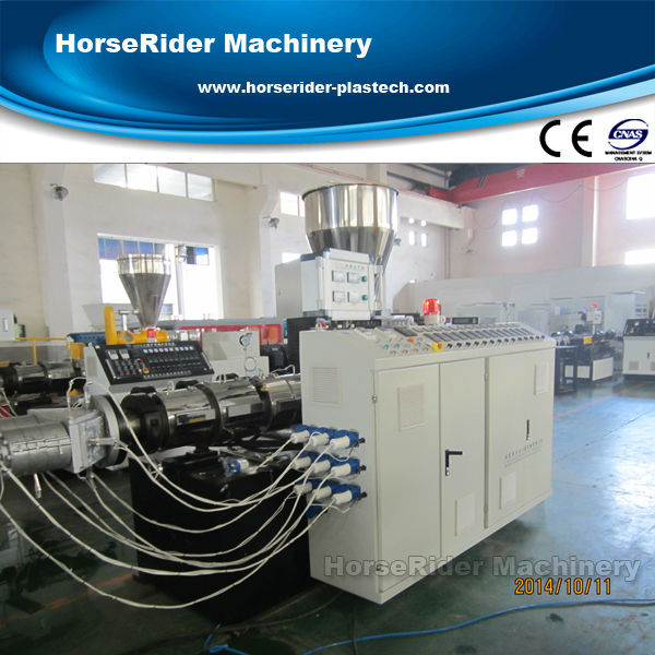 hot sale large upvc pvc pipe tube manufacturing fabrication extrusion machine line