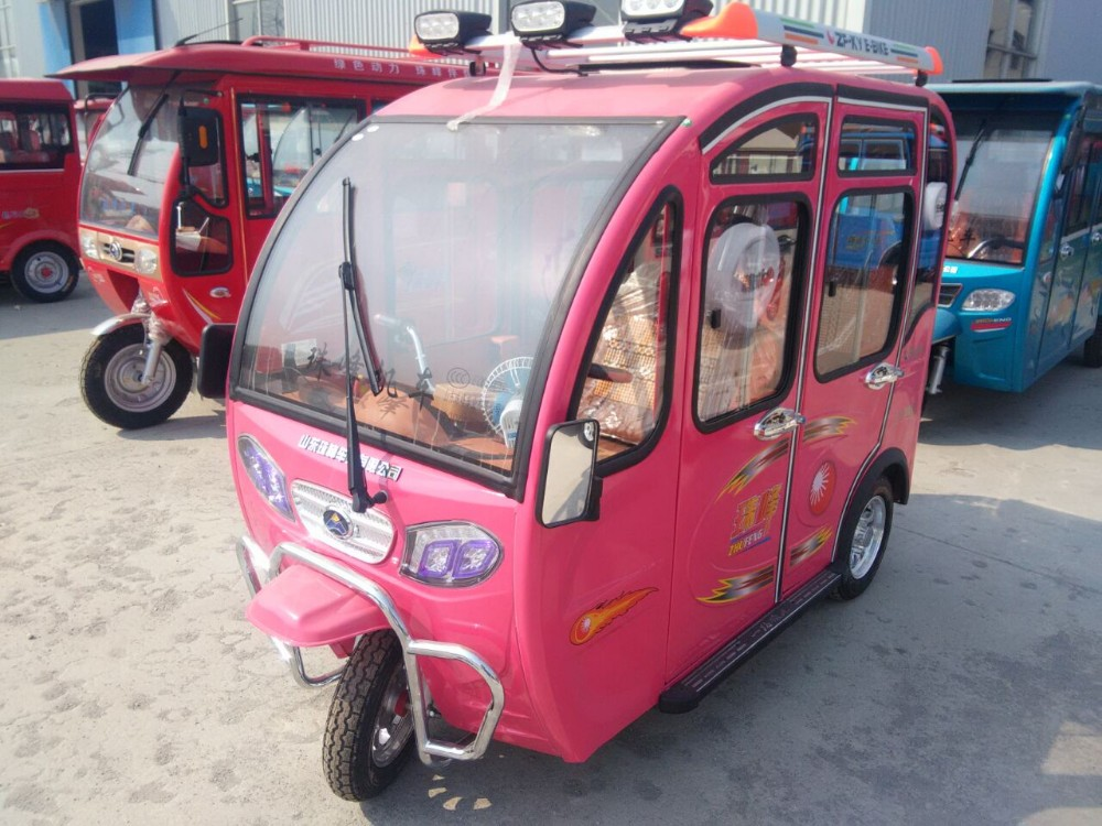 China made solar Bajaj with 4 seats