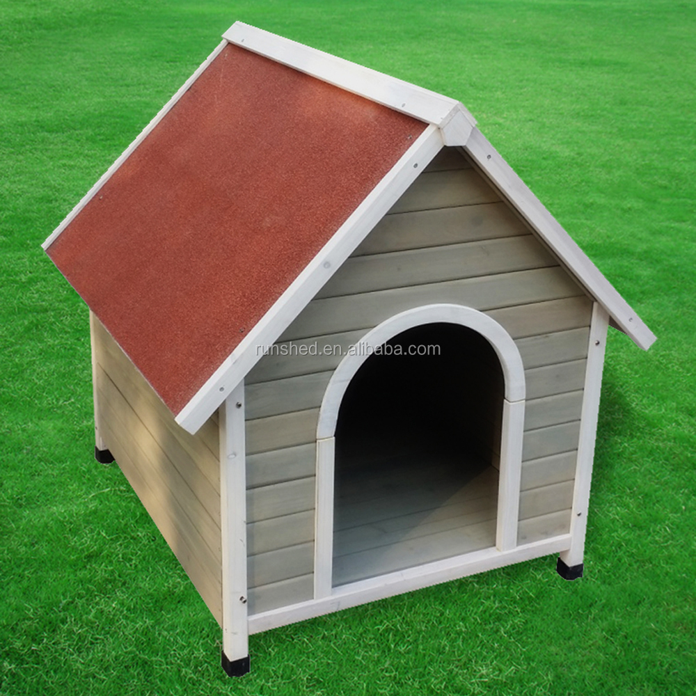 A-frame Wooden dog Rabbit house pet kennel for dog indoor Outdoor small dog cage Puppy Shelter cubby Waterproof comfort