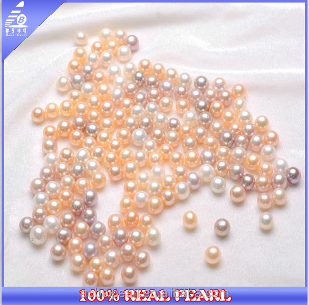 AB-039 Loose wholesale large size freshwater perfectly round pearls