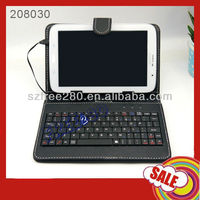 "7"" Tablet USB 2.0 Keyboard Leather Case for Android Tablet"