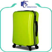 Colorful cheap abs luggage Plastic trolley luggage case for girls/boys/women
