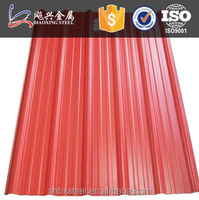 Prepainted High Rib Metal Roofing Steel Sheet
