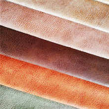 China synthetic suede leather fabric for sofa