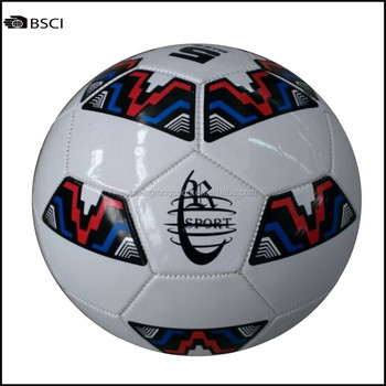 Stock Soccer Ball For Discount With Woven Packing