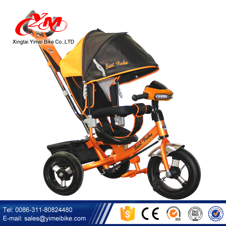 Russia hot sale models Baby Tricycle for sale / 3 in 1 lexus Children Tricycle with push handle / driving kids pedal cars trike