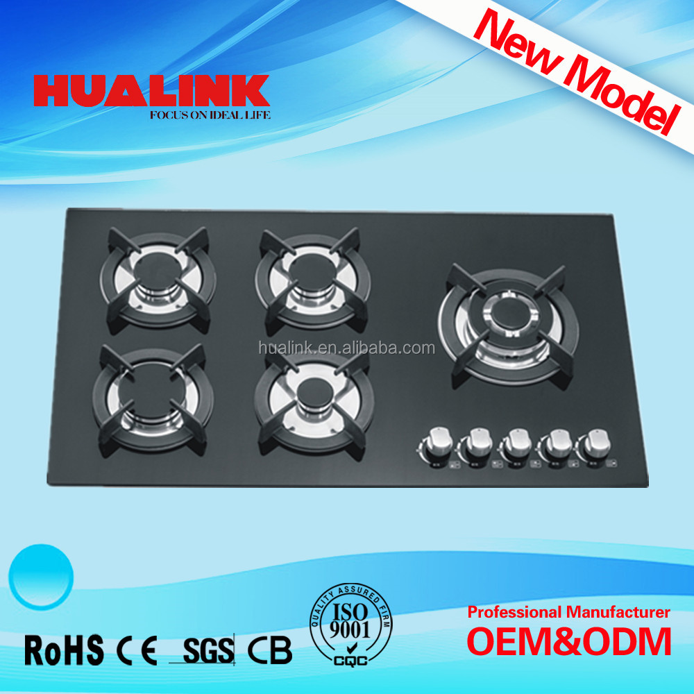 hotel gas cooker HLK5204G competitive price table gas stove