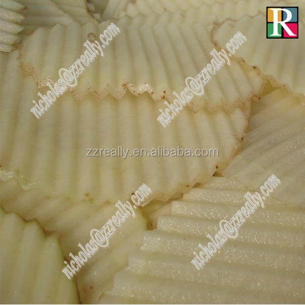 Commercial taro and potato cutter, 300kg/h small potato chips making machine
