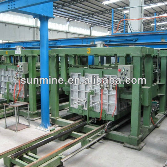 Sunmine branded Low labor intensity 22 fixture Refrigerator linear layout cabinet foaming production line