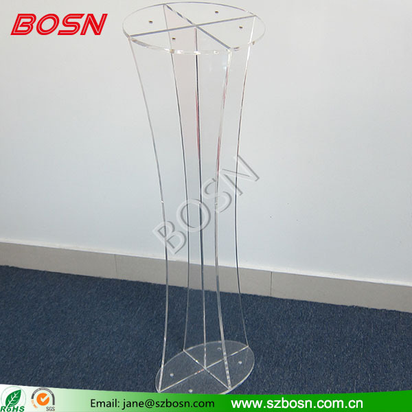 Plexiglass modern Design Acrylic Pulpit/Lucite Podium from BOSN