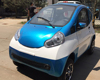 Electric four wheel closed car, electric car for sale