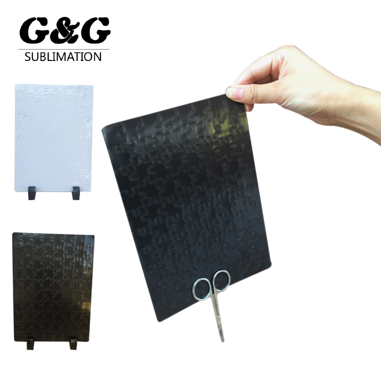 China Factory Custom Sublimation Magnetic Jigsaw Puzzle Blank