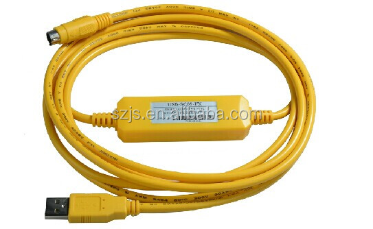 Support Windows 7 II PLC Programming Cable for Mitsubi-shi New USB-SC09-FX FX Series 60 days warranty