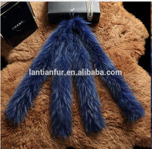 Lantian Fur Top Quality Genuine Raccoon Fur Trim For Hood and Garment