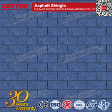 3 tab asphalt shingle for roof tile