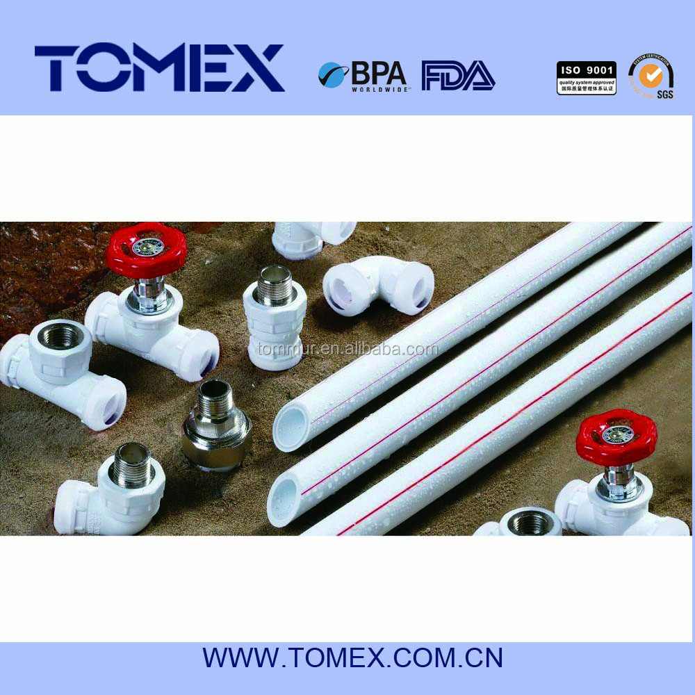 2015 POPULAR SELLING AMERICA MARKET 20MM-110MM PPR PIPES