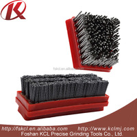 round brush steel wire brush for grinding stones