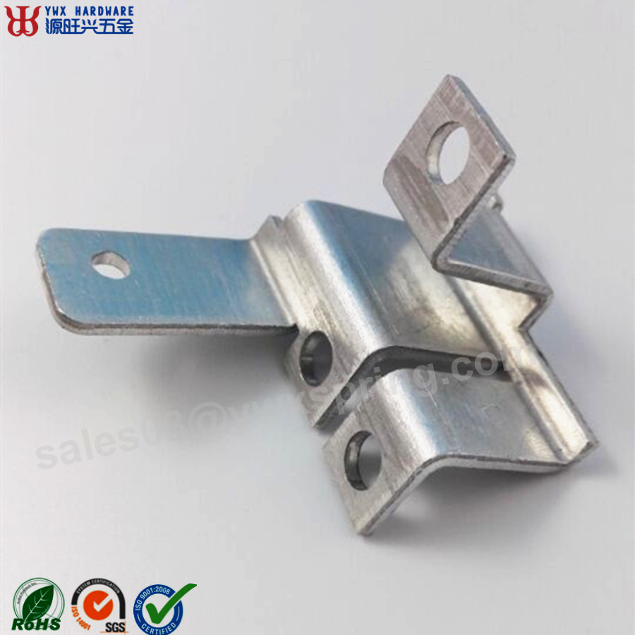 Manufacturer lighting heat sinks hole screw aluminum stamping part