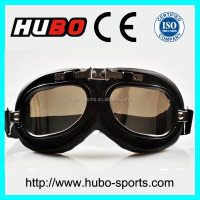 Aviator Pilot Cruiser Motorcycle glasses mirror lens helmet goggles