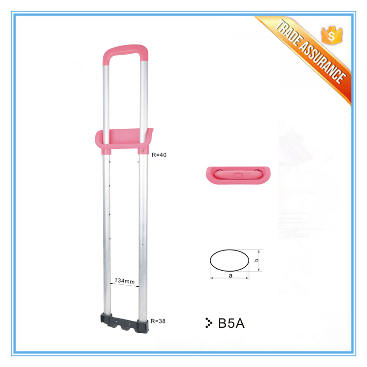 Fashion traveling cheap school bag trolley handle parts