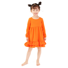 Princess girls dress high quality kids children frocks designs halloween