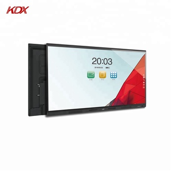 China portable interactive large touch screen panel whiteboard IFP for classroom education teacher