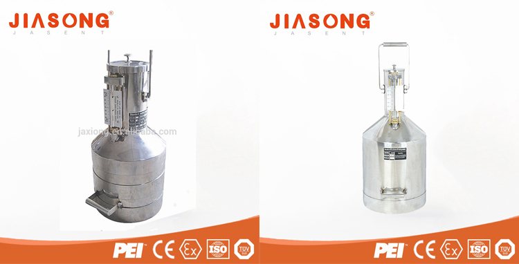 Fuel measuring can / Stainless steel measurement tank / Standard metal prover