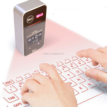 2017 China Factory Wholesale Wireless Laser Projection Keyboard For Tablet PC& Mobile