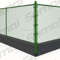 Anping Wholesale Galvanized Chain Link Fence