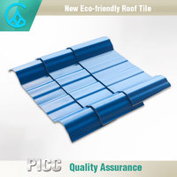 Customized Composite Plastic PVC Clear Corrugated Plastic Roofing Sheet