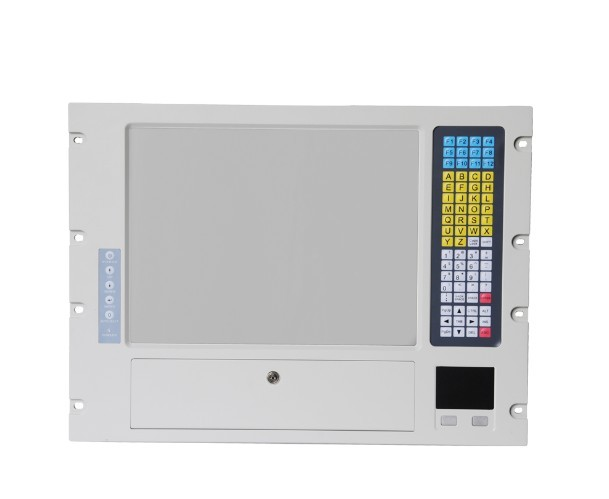 15'' LCD high brigtness Monitor rack mount 8U height Industrial Workstations