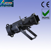 HOT 150w 3in1 rgb full color led cob ellipsoidal stage profile spot light