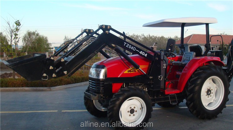 Factory directly sale lawn tractor with front end loader
