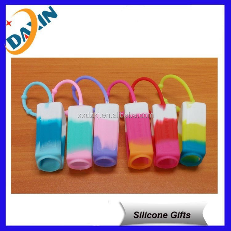 multicolors bbw pocketbac holder silicone hand sanitizer holders